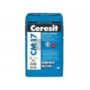Plytelių klijai Ceresit CM17, (25 kg)