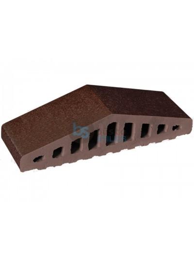 Tvoros elementas 310/250x100x78 Ruda glazūra
